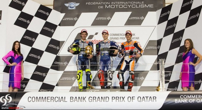 MotoGP: Rossi y Márquez se postulan como candidatos al título en una carrera dominada por Lorenzo