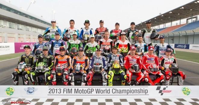 MotoGP: Así será la parrilla de 2013