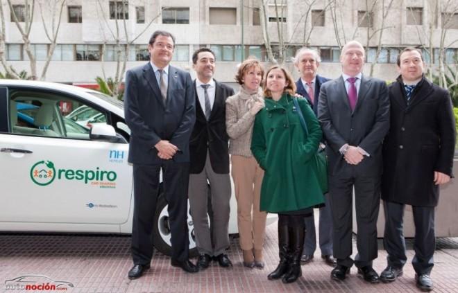 NH Hoteles ofrecerá a sus clientes el Car Sharing eléctrico