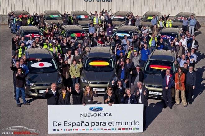 La fuerte demanda del Nuevo Kuga lleva a Ford a aumentar la producción en Almusafes
