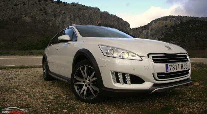 Prueba Peugeot 508 RXH: Espíritu all road y calidad premium