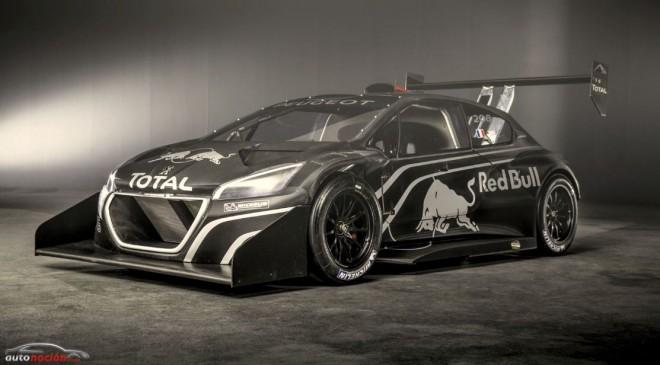 Peugeot descubre el 208 T16 Pikes Peak que conducirá a Loeb hacia las nubes