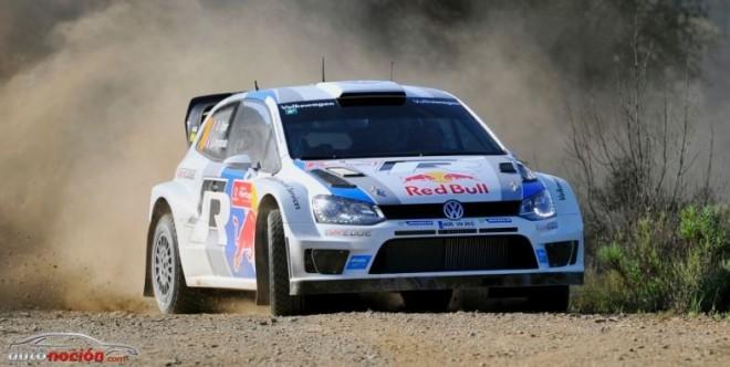 Ogier lider en Portugal al volante del Polo R WRC