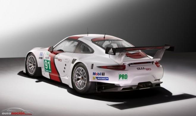 Más detalles del nuevo Porsche 911 RSR