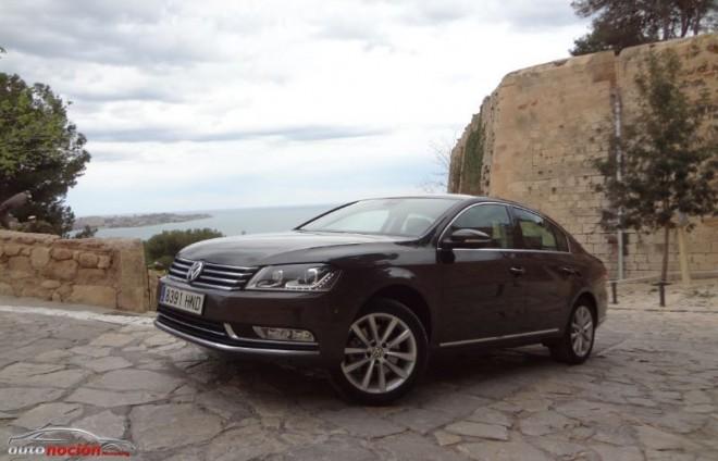 Prueba Volkswagen Passat 2.0 TDI DSG: muy tecnológico
