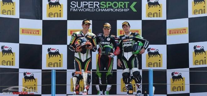 Lowes y Sofuoglu, a brazo partido en el GP de Assen de Supersport