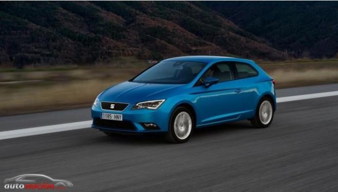 El SEAT León SC llega a los concesionarios con un precio de partida de 14.490 euros