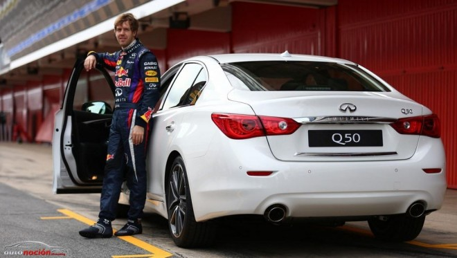 Sebastian Vettel será el Director de Rendimiento de Infiniti