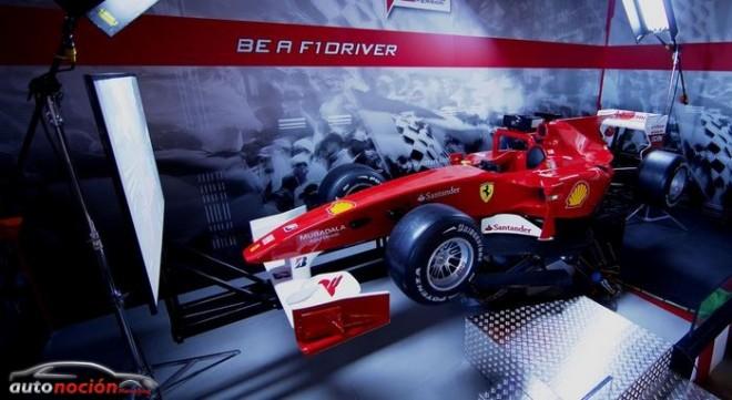 El nuevo simulador de Ferrari llega a Madrid