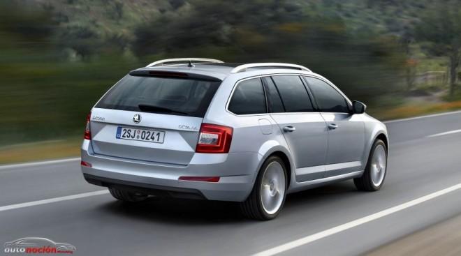 Škoda inicia la producción del Octavia Combi en la planta de Mladá Boleslav