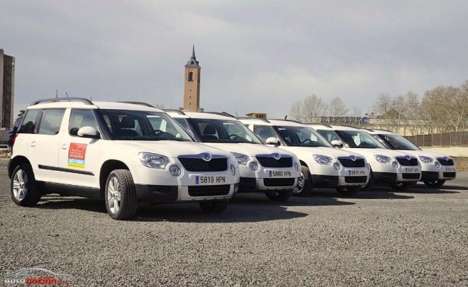 La Diputación de Ciudad Real adquiere 5 Skoda Yeti dentro de su Plan de Modernización de Equipos