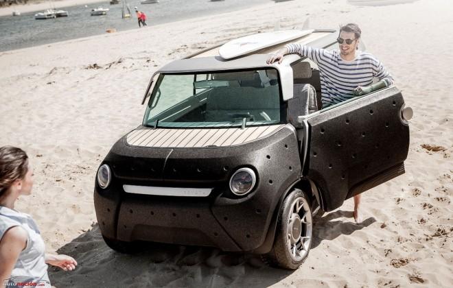 Toyota nos muestra el ME.WE: Una remasterización del Citroën Mehari