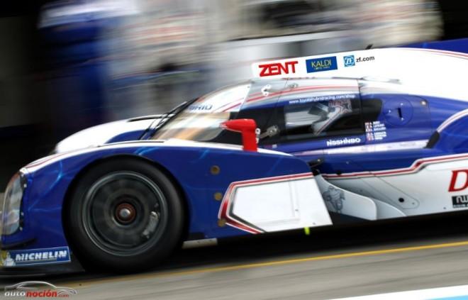 Toyota Racing prepara motores en Silverstone