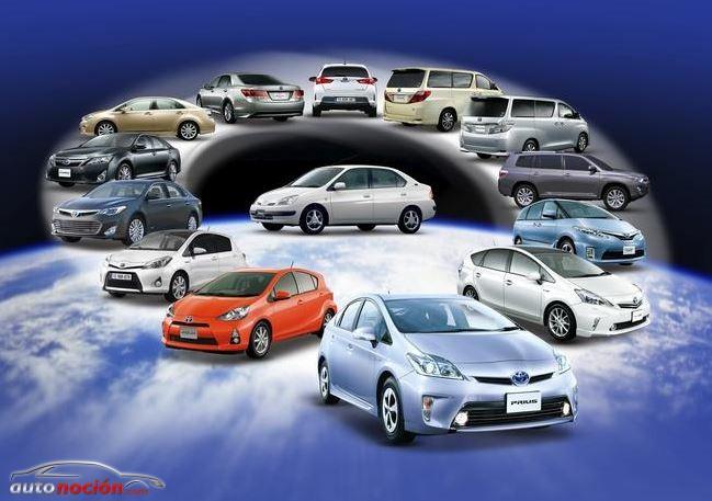 Más de 5 millones de híbridos Toyota y Lexus ruedan por el mundo