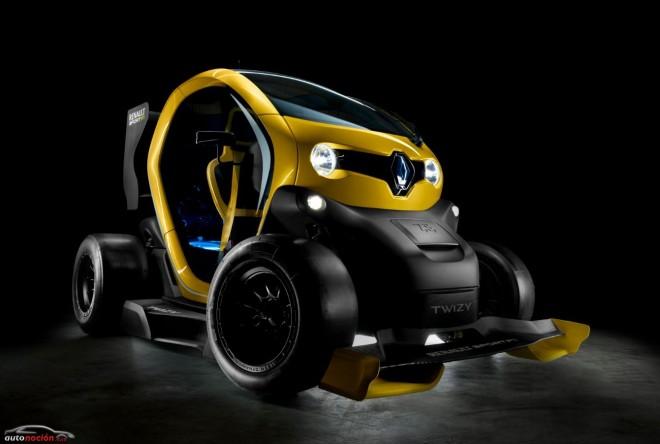 """Renault nos muestra su """"pulga"""" con KERS: El Twizy Renault Sport F1"""
