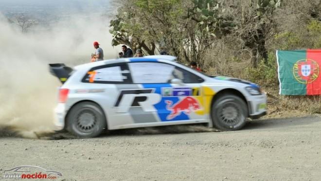 Volkswagen con tres Polo R WRC
