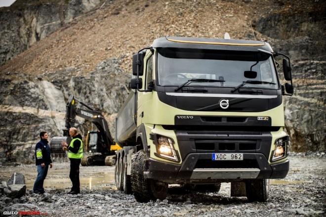 La cabina del nuevo Volvo FMX: Agradable para trabajar