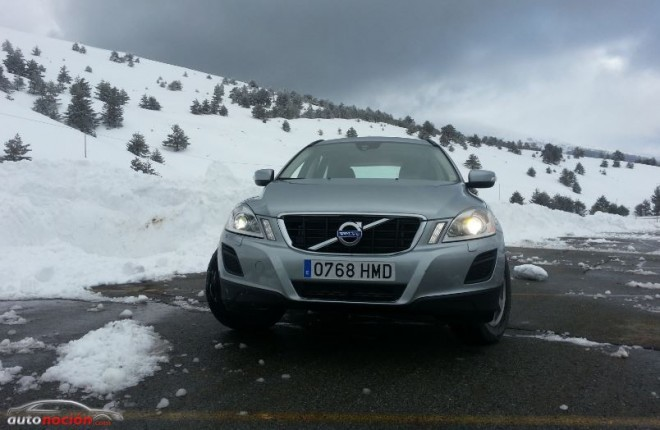 Volvo XC60 nieve