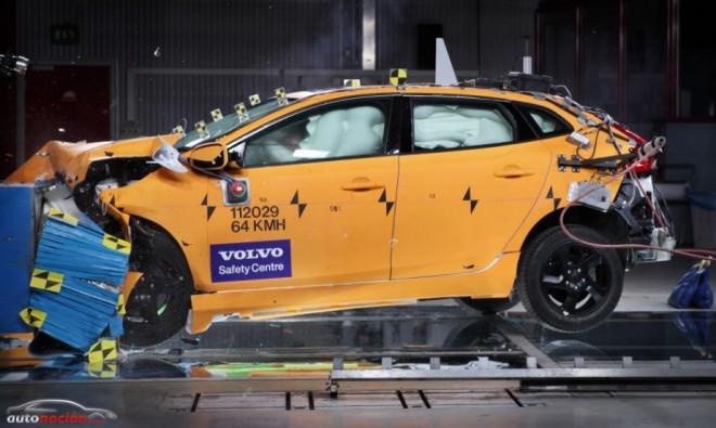 Los resultados confirman el liderazgo de Volvo en seguridad