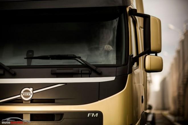 El nuevo Volvo FM en la Feria de Birmingham