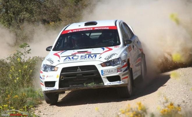 Xevi Pons y su Evo X se imponen en la primera prueba del campeonato de España de Rally