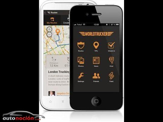 Volvo lanza una App para Worldtrucker