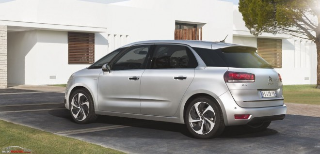El Nuevo Citroën C4 Picasso adelgaza para lograr mejores consumos
