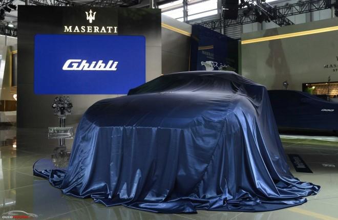 Maserati presentará en Shanghái el Ghibli, su nuevo modelo con variante diésel