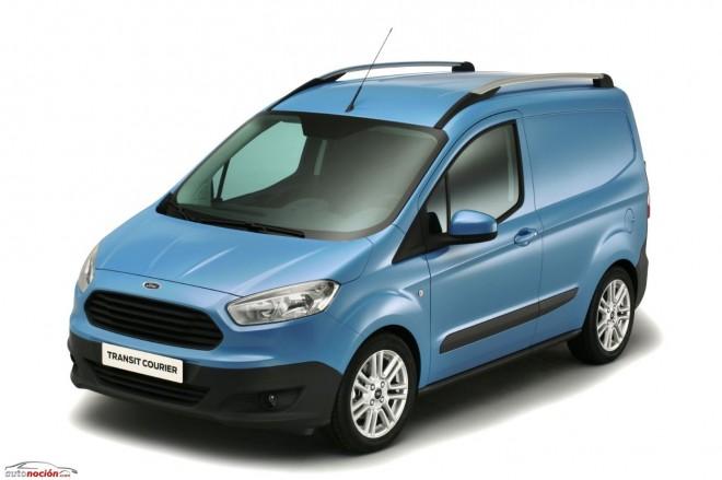 Nuevo Ford Transit Courier: La carga vista desde otra dimensión