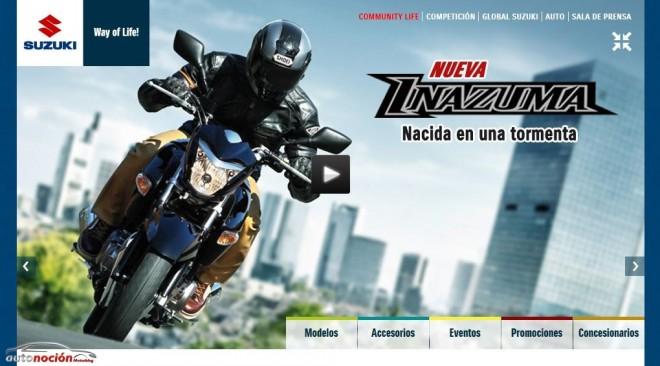 Suzuki presenta su nueva web
