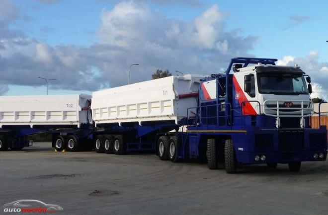 Goodyear calzará con su GP-2B 385/95R25 al camión de obra más grande del mundo