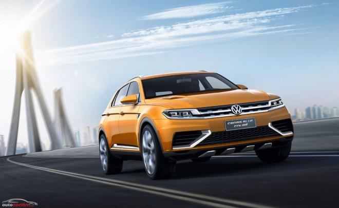 El CrossBlue Coupé ahora está más cerca de convertirse en el futuro ADN offroad de Volkswagen