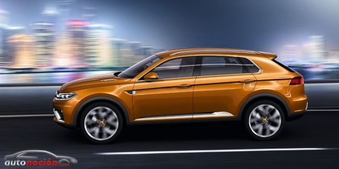 volkswagen crossblue lateral
