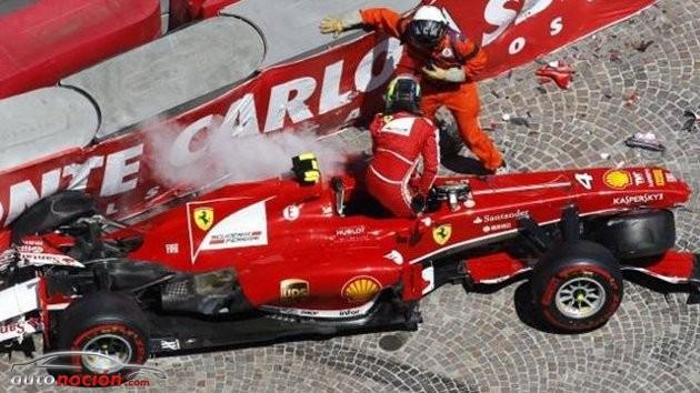 El accidente de Massa fue debido a un fallo en la suspensión