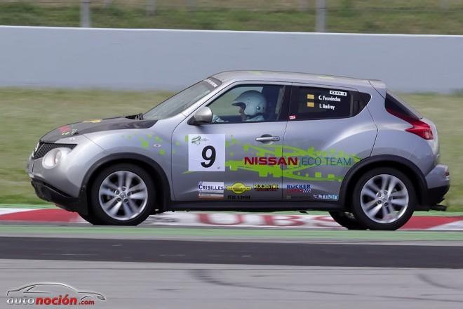 Nissan arrasa en las Eco Series