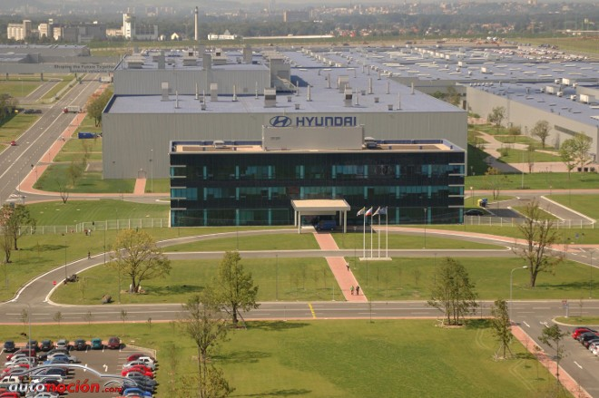 Hyundai fabrica su unidad 1 millón en la planta de República Checa