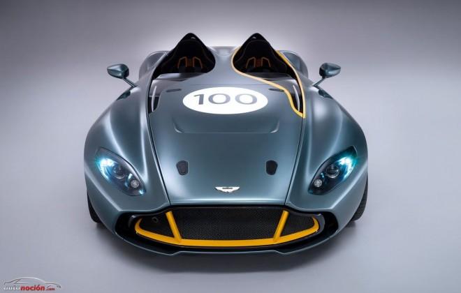 Aston Martin CC100: Un V12 de 6.0 litros montado en un chasis de fibra para celebrar los 100 años de la marca