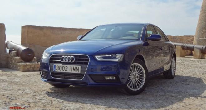 Prueba Audi A4 TDI 143 cv multitronic: La berlina compacta para los hombres de negocios