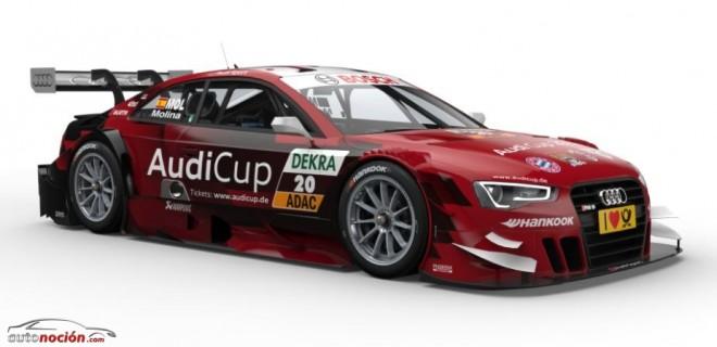 El Audi RS5 DTM presenta nuevos colores en Brands Hatch