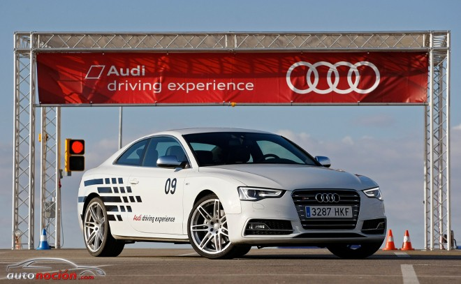Continuan los cursos en la Audi Driving Experience