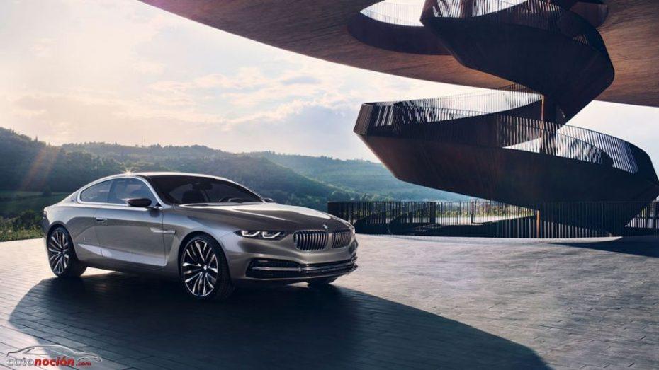 BMW Gran Lusso Coupé, nuevas fotografías
