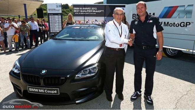 Un BMW M6 Coupé para el mejor piloto en clasificación de MotoGP