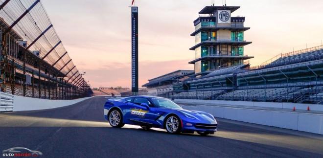 Chevrolet Corvette Stingray 2014: Safety Car en las 500 millas de Indianápolis