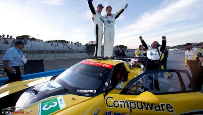 Victoria del Corvette Racing en Laguna Seca