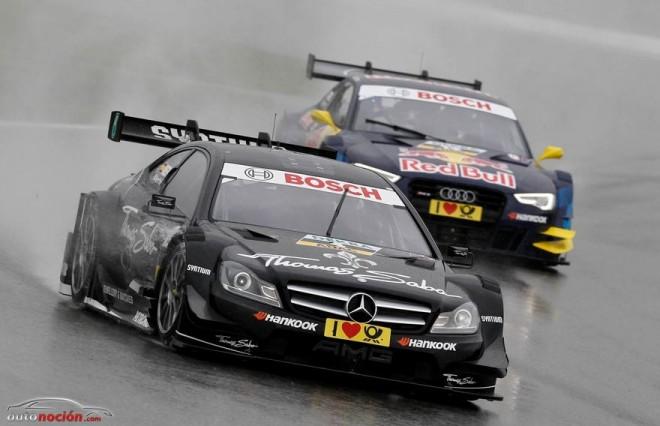 Buen comienzo de los pilotos españoles en la DTM 2013