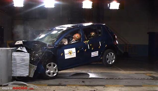 El nuevo Dacia Sandero recibe 4 estrellas Euro NCAP
