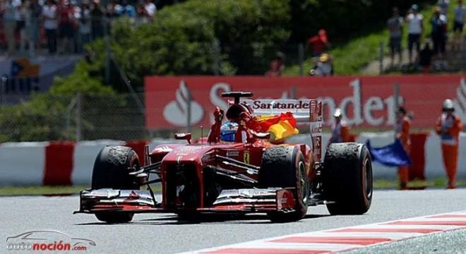 F1: Fernando Alonso se impone en el GP de España con autoridad