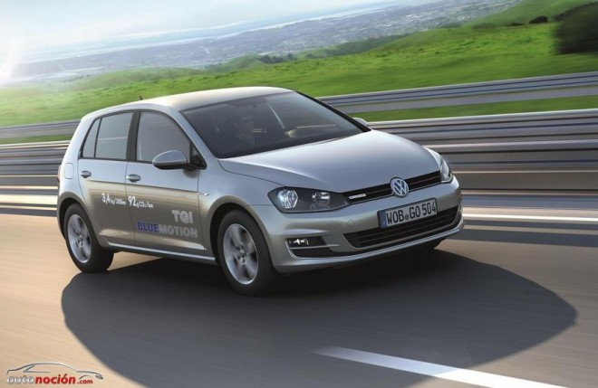 El Golf Bluemotion destaca por consumo y emisiones
