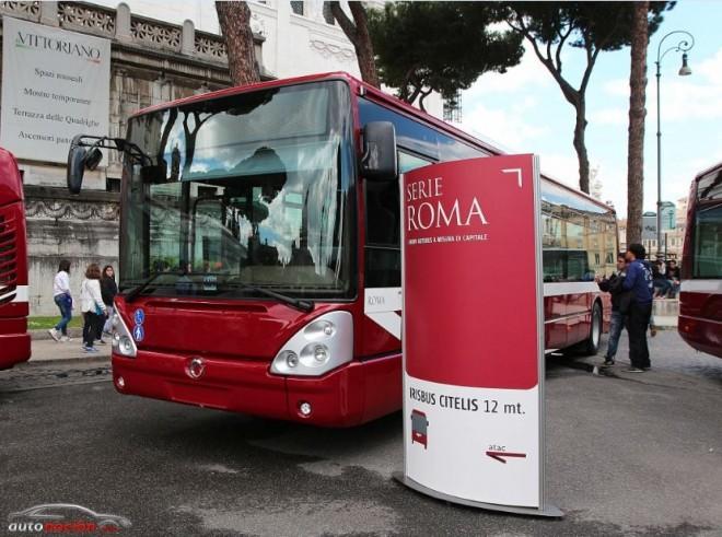 Iveco entrega a Roma 330 autobuses más eficientes