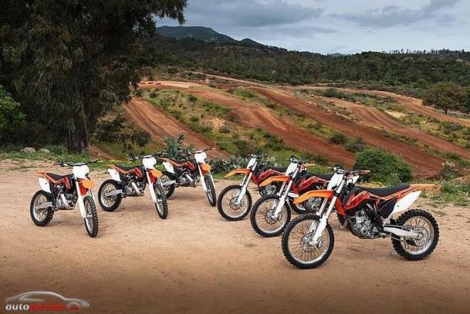 KTM presenta su gama offroad 2014